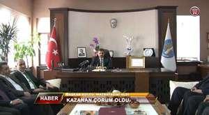 Çorum Belediyespor - Manavgat Evrensekispor Maçı