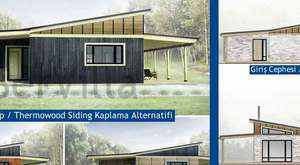 SerVilla Çelik Villa - Villa Projelerimizden Sunum Videosu