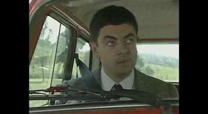 Mr. Bean - First Ever Reliant Robin Crash