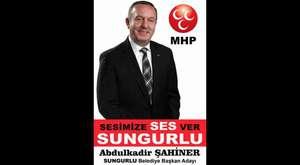MHP Sungurlu Belediye Başkan Adayı Abdulkadir ŞAHİNER