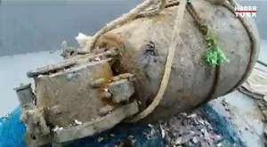 Osmanlı döneminden kalma mayın balıkçı ağına takıldı - Türkiye Videoları