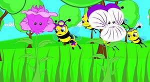 Arı Vız Vız - Kırmızı Balık ve EN POPÜLER Çizgi Film Bebek Şarkıları - Sevimli Dostlar