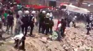 Reyhanlılara polis'den gazlı müdahale