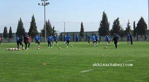 Akhisar Belediyespor, Eskişehirspor Hazırlıklarını Stadyumda Sürdürdü