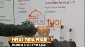 Dr. Figen Es ile helal gıdayı anlattı (helalfuar.com)