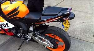 Honda CBR 1000RR Repsol, decibel measuring