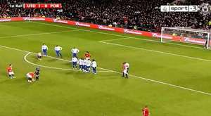 Drogba FreeKick Goal vs Arsenal