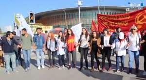 Bursa'da teröre tepki yürüyüşü