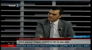 Eğiti-Yorum'nun konuğu ÖGEDER'in başkanı Vahdet Özkoçak ile akademisyen sorunları tartışıldı