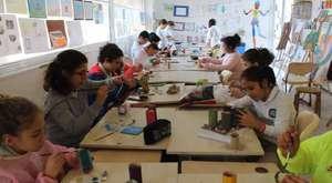 Görsel Sanatlar Dersi Sepet Çalışması 2