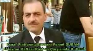 +Sayın Fehmi Duban Türkiye Esnaf Televizyonu Röportajı www