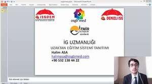Toramanisg.com Uzaktan Eğitim Sistem Tanıtımı
