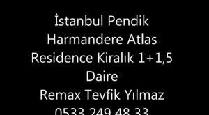 İstanbul Pendik Dumankaya Trend Kurtköy Satılık 1+1 Daire 15 Parsel