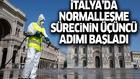 İtalya'da normalleşme sürecinin üçüncü aşaması başladı