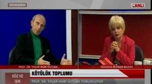 Yaşar Nuri canlı yayında Gülgün Feyman`a hakaret etti