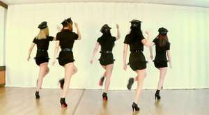 T-ARA NUMBER NINE cover dance WAVEYA  korea dance team