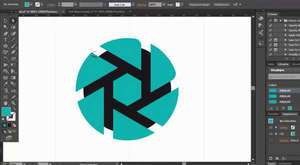 HD logo design - illustrator cc