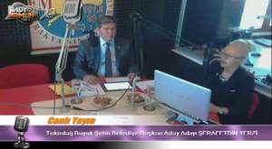 Tekirdağ Büyükşehir Belediye Başkan A.Adayı Sayın Şerafetdin Terzi Radyomuzun konuğu...