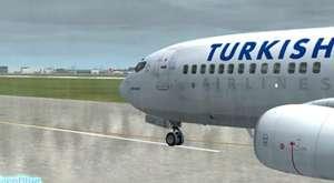 PMDG 747 Kaitak Runway 13 Landing