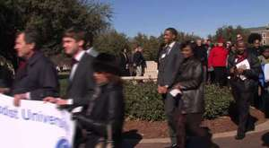 SMU STUDENTS REMEMBER MARTIN LUTHER KING JR.