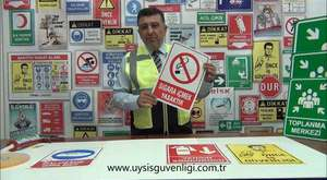 iş güvenliği levhaları