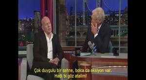 Bruce Willis Letterman Show Die Hard (Türkçe Altyazılı)