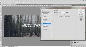 Photoshop Basit ve Şık Kapak Fotoğrafı |Hayalet Tasarım|