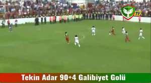 Kahramanmaraşspor 1-1 Amed Sportif (Geniş Maç Özeti)