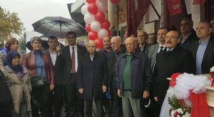 MOTOSİKLET OTOMOBİL KAZASI 4 YARALI