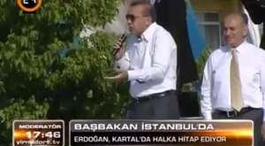 BAŞBAKANIMIZ KARTALLILARA SESLENDİ