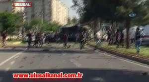 Diyarbakırdaki bombalı saldırıdan ilk görüntüler - Dailymotion Video