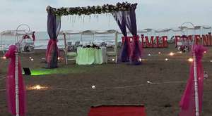 evlilik teklifi sahil atakum