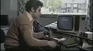 Eski zamanlarda bilgisayar kullanmak