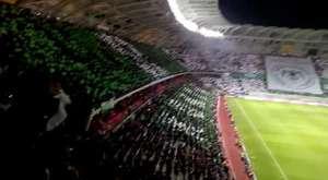 Konyaspor-Galatasaray maçı koreografi