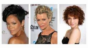 Katlı Kısa Saç Modelleri
