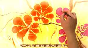 Animated Water - Russian's Got Talent 2010 finalist!_(480p)