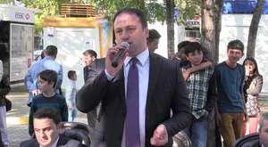 Erbaalı Cumhuriyet Meydanında Bayramlaştı