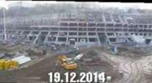 Vodafone Arena Panorama Time-Lapse | 10.01.2015 - 20.01.2015