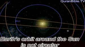I did not know earh's orbit is not circular, it is more complex