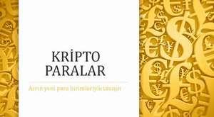 cripto paralar türkçe sunum