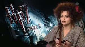 Helena Bonham Carter-Harry Potter an the Deathly Hallows Interview