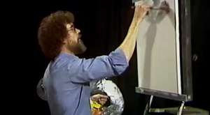 Bob Ross Full Episode - Ebony Sunset S1-E3