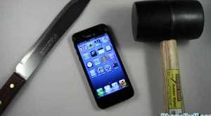 iphone 5 dayanıklılık testi