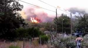 Adrasan Kumluca Orman Yangını