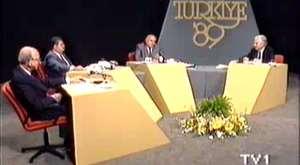 1989 Seçimleri Öncesi Bir Açıkoturum