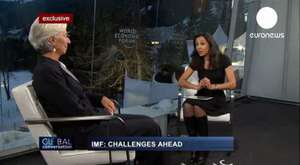 Global Conversation_ Exclusive interview with Christine Lagarde 2013 davos