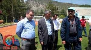 Başkan Gün'ün Hocaları ve 86 Mezunları Bimder ile Ziyarete Geldi.