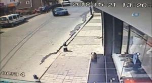 Basın Ekspres'te araç yangını: Trafik kilit