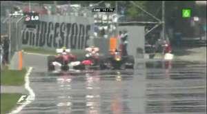 Rosberg'in Son Turdaki Atağı