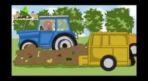 İsveç'teki Kompost Tesisi